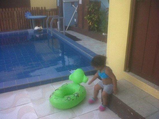Cecil Paradise : la piscina, tiene su baño muy lindo y limpio