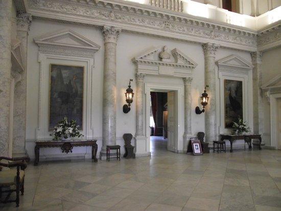 Clandon Park: The Marble Hallway