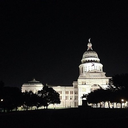 Texas State Capitol : Austin Capital at night
