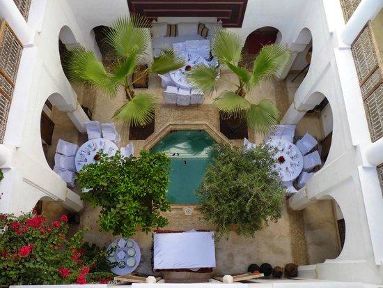 Riad Matham: vue du toit terrasse