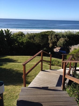 The Robberg Beach Lodge: View from hotel