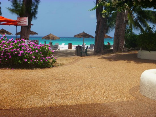 Bougainvillea Beach Resort: View from one of the swimming pools