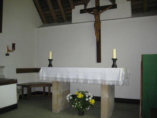 St Julian's Shrine: Mother Julian's Cell/room at the church