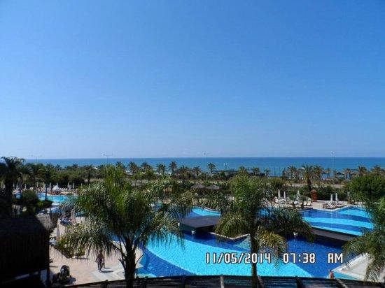 Long Beach Resort Hotel & Spa: view from balcony