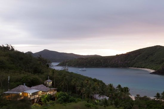 Mantaray Island Resort: View from the hill