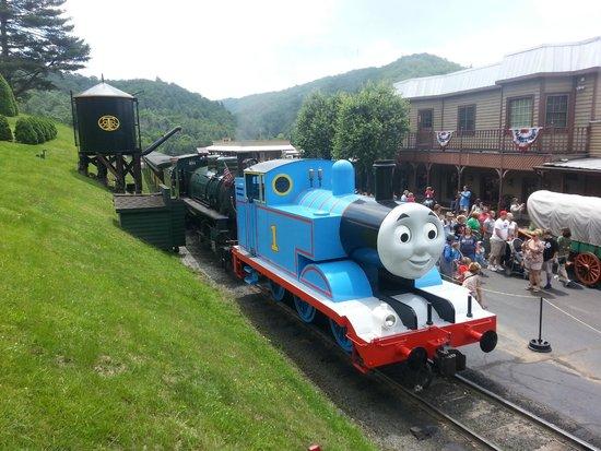 Tweetsie Railroad : Thomas the Train at Tweetsie!