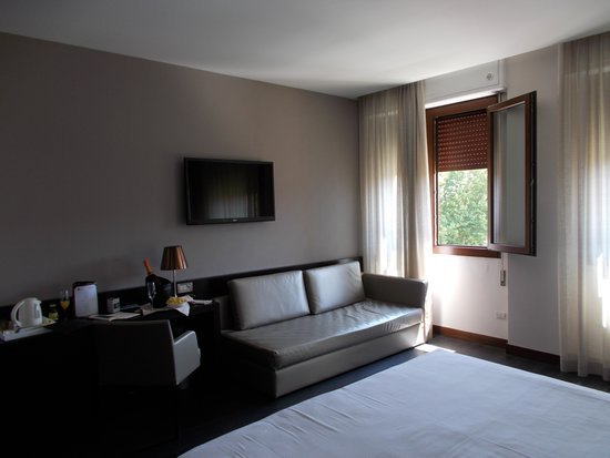 Best Western Premier Hotel Sant'Elena: Camera grande  vista laguna : meravigliosamente comoda e moderna