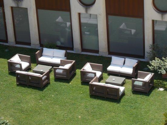 Best Western Premier Hotel Sant'Elena: apertivio in giardino 'dopo le grandi camminate a Venezia '
