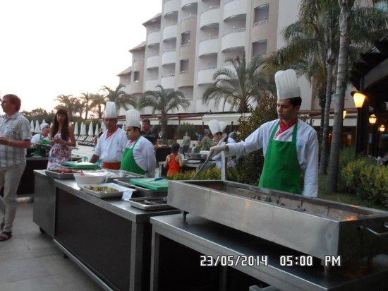 Long Beach Resort Hotel & Spa: bbq