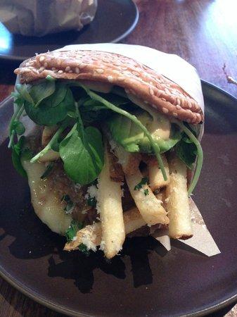 "Roam Artisan Burgers: My ""French"" burger"