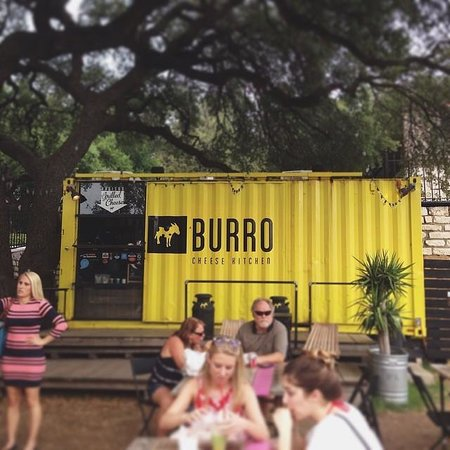 burro cheese kitchen is a shipping container food truck - Burro Cheese Kitchen