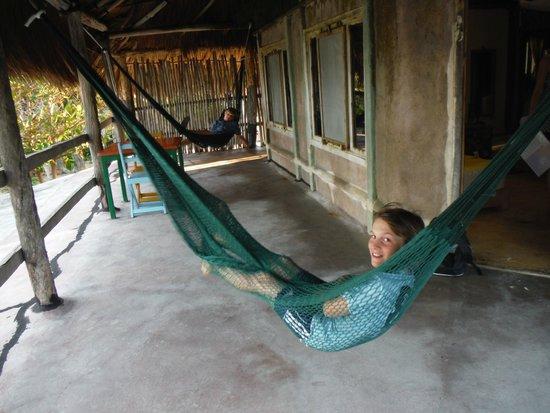 Zamas: Porch at cottage