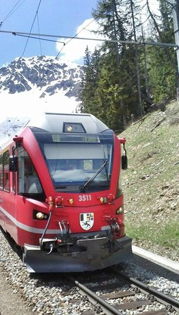 Trenino Rosso del Bernina: trenino