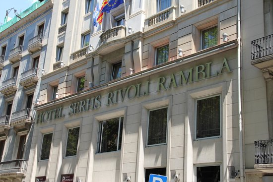 Hotel SERHS Rivoli Rambla: HOTEL