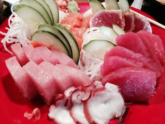 Bamboo Sushi Bar & Hibachi Express: Sashimi Dinner
