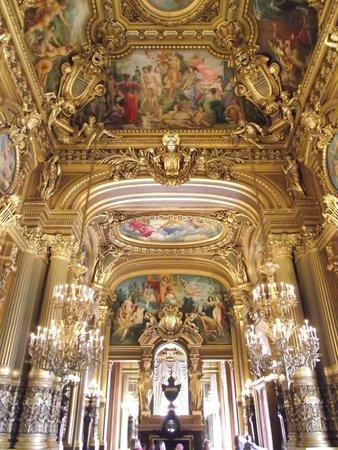 Opéra Garnier : Teto da sala de espelhos.