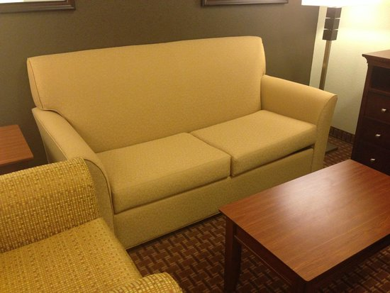 Best Western Plus Easton Inn & Suites: Couch