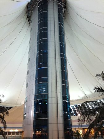 Marina Mall: Great views from top