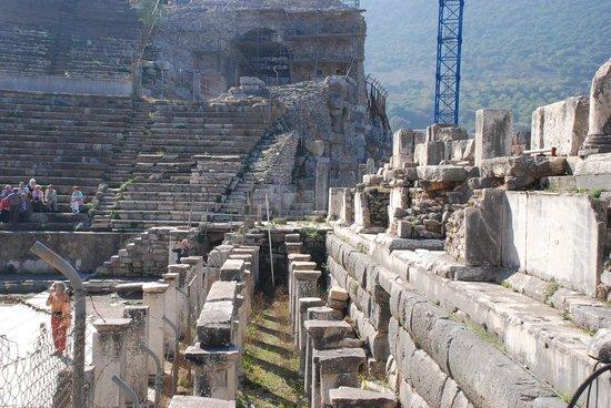 Efes Antik Kenti Tiyatrosu: Ephesus Theatre