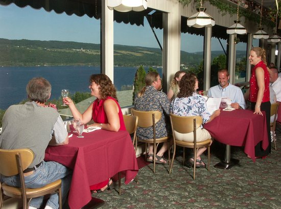 Montage Italian Grill: The only thing we overlook is Seneca lake.