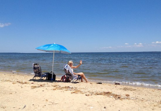 Lexington Park, MD: Beach view