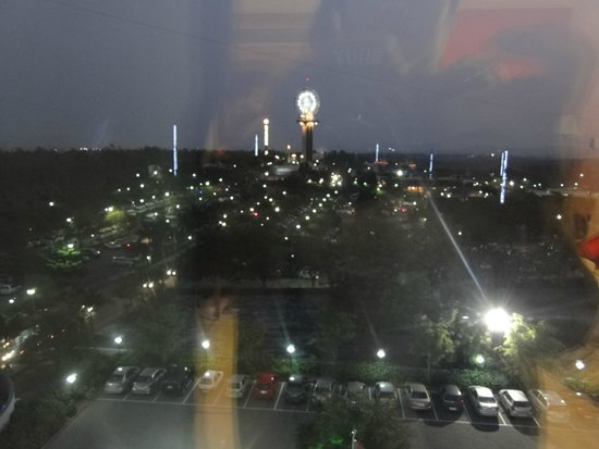 Wonderla Resort : Night view of the park from the room on 5 floor