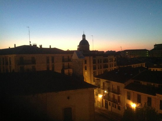Hotel Abba Fonseca: View in the morning