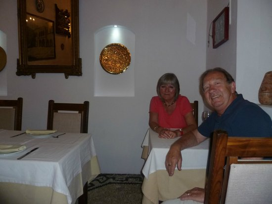 Stefany's Restaurant : us with view to the rear