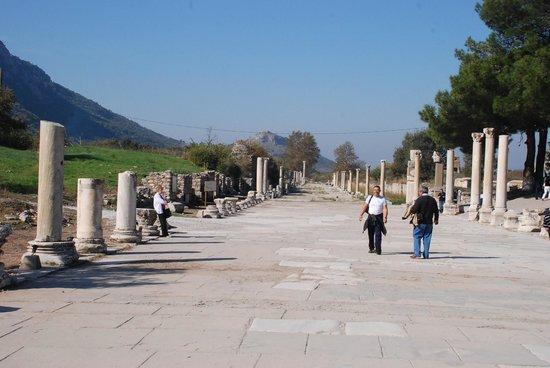 Arcadian Way at Selcuk, Turkey