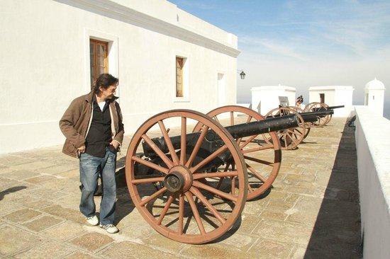 Fortaleza del Cerro: Artillery at Cerro - not armaments from the original fort.