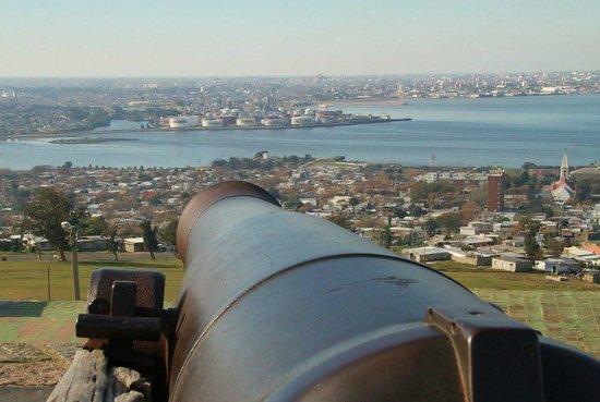 Fortaleza del Cerro: View from Cerro.