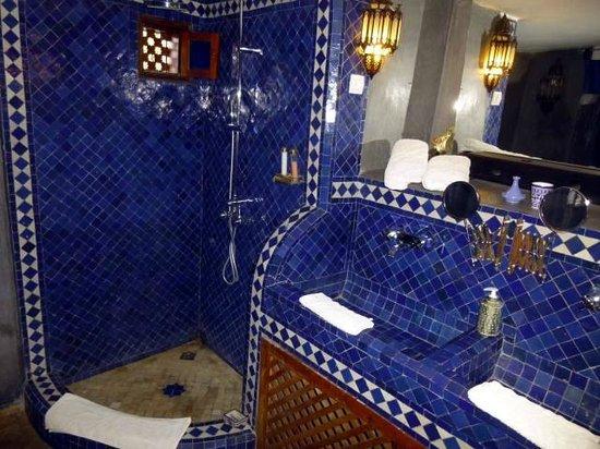 Riad Tara Hotel & Spa: タイル貼りがリアドらしい