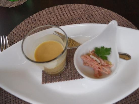koch´s: A sample of the delicious mustard soup