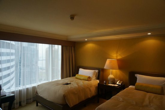 Conrad Hong Kong : Twin bed