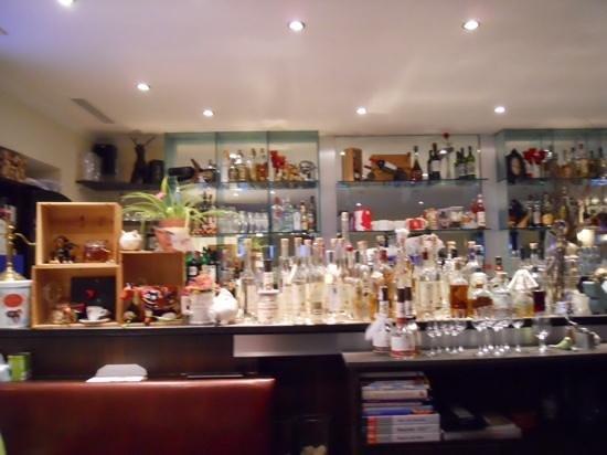 koch´s: A pretty extensive bar offering
