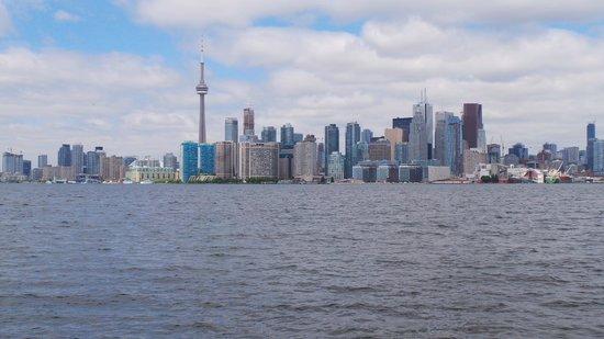 Hilton Garden Inn Toronto Downtown: View of Toronto from Island park