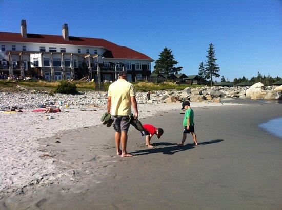 White Point Beach Resort: perfect beach weather