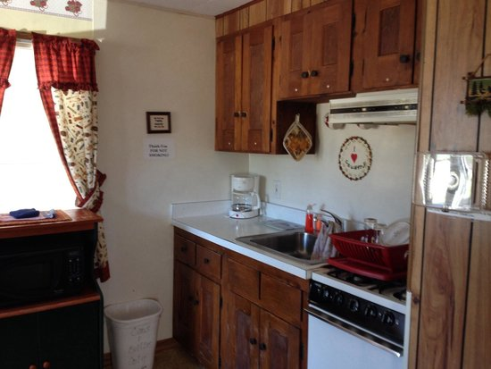 Johnson's Motel and Cottages : Kitchenette. Everything you need.