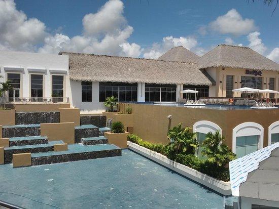 Hard Rock Hotel & Casino Punta Cana: Back of main building