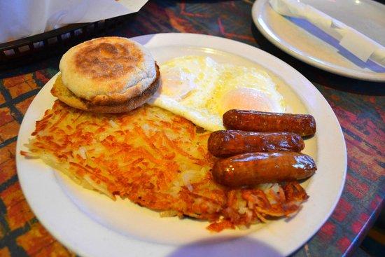 Blue Moon Cafe : Breakfast