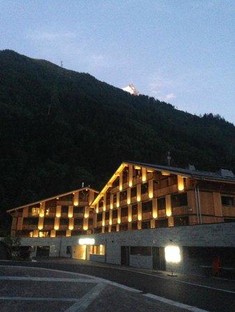 Hôtel l'Héliopic : After sunset