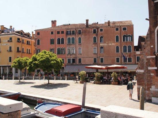 HOTEL OLIMPIA Venice: Hotel facade