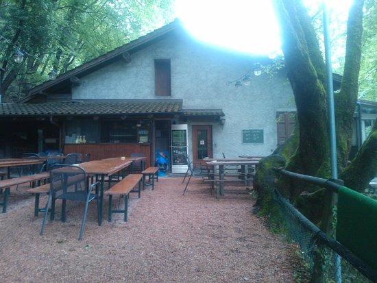 Antico Grotto Fossati: Terasse