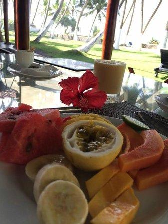Apa Villa Thalpe : Fresh fruit everyday during breakfast.