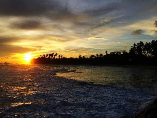 Apa Villa Thalpe: Sunset