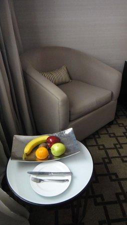 Fairmont Heliopolis : Welcome fruits