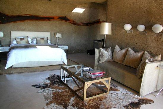 Sabi Sabi Earth Lodge: Bedroom