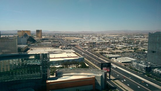 Vdara Hotel & Spa: View from our room 40th floor