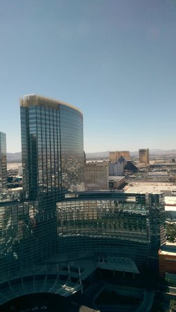 Vdara Hotel & Spa: View from our room by day 40th floor