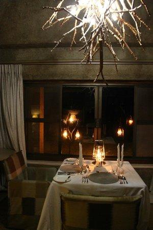 Sabi Sabi Earth Lodge: Surprise inroom dining